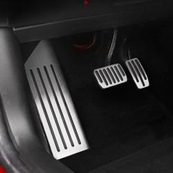 Aluminum alloy foot pedal set for Tesla Model 3