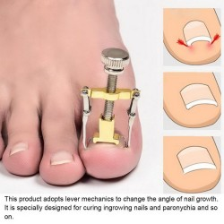 Professional ingrown toenail corrector - lifter - stainless steel