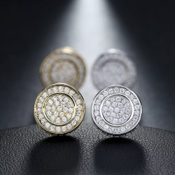 Round Earring - Gold/Silver