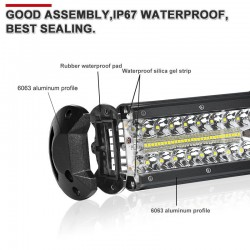 Light Bar/Work Light - Led Bar - 60W - 120W - 180W - 240W