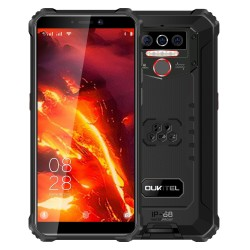 OUKITEL WP5 Pro Global Version - dual sim - 5.5 inch - IP68/IP69K Waterproof - 8000mAh - Android 10 - 4GB 64GB - 4G smartphone