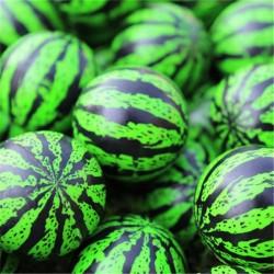 20pcs - 30pcs - 50pcs - 80pcs - 100pcs - 32MM - Bouncing Watermelon - Bouncy Ball
