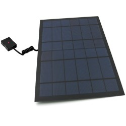 6W - 10W - Power Bank - solar panel - USB - battery charger