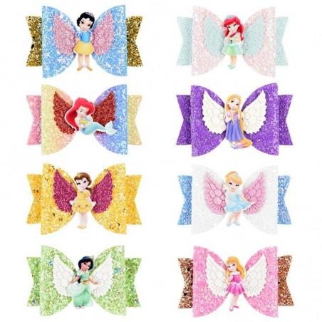 Princess - Hair Clips - Glitter