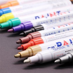 Waterproof - Pen - Permanent - Paint Markers - Stationery