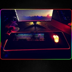 RGB Gaming Mouse Pad - Led - Big Mouse Mat - Backlight