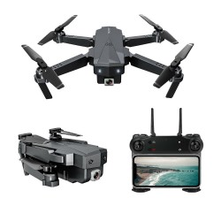 ZLRC SG107 - HD - Aerial Folding Drone - Switchable - 4K Optical Flow Dual Cameras - 50X Zoom