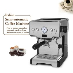 Coffee maker machine - semi-automatic - 15 Bar