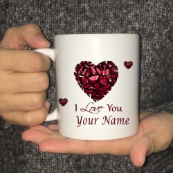 Personalised tea / coffee mug - ceramic