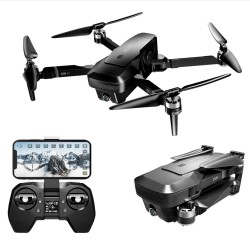 VISUO K1 - 5g - wifi - fpv - gps - 4k hd dual camera - brushless - foldable