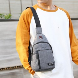 Shoulder bags - nylon waist pack- outdoor - usb charging
