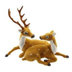 Christmas decoration - brown reindeer - deer