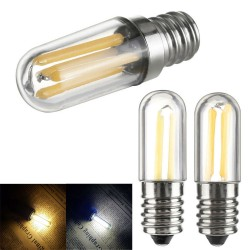 E14 - E12 - 1W - 2W - 4W - COB - LED - mini bulb - dimmable - for fridge - freezer