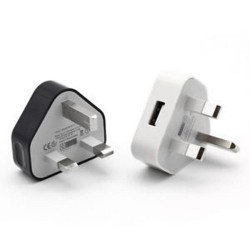 5V 1A - USB - universal charger - adapter - UK plug