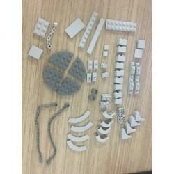 Tensegrity sculptures - anti-gravity building blocks - DIY toy
