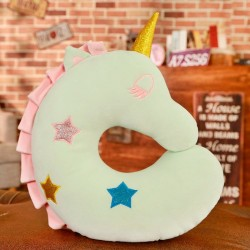 U shaped pillow - plush unicorn