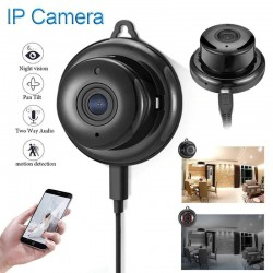 WiFi CCTV mini security camera - P2P - IP - IR night vision - motion detection - baby monitor