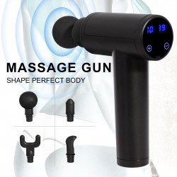 Electric body massager - cordless - rechargeable - muscle / body relaxation / pain relief