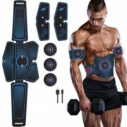 Slimming & massage belt - muscle trainer - USB