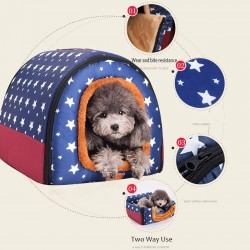 Multifunction warm pet house - comfortable kennel - mat - foldable sleeping bed
