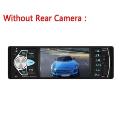 Bluetooth car radio - din 1 - 4 inch display - MP3/MP5 - rear camera - steering remote