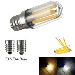 E14 - E12 - 1W - 2W - 4W - LED - fridge / freezer mini bulb - dimmable