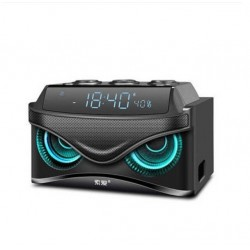 S68 - 25W - wireless Bluetooth speaker - stereo - support TF card - owl design