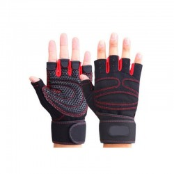 Weight lifting gloves - half finger - sports - fitness