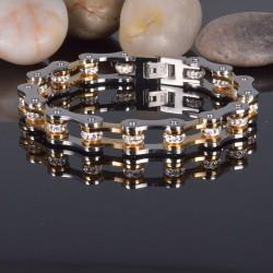 Bicycle chain bracelet -...