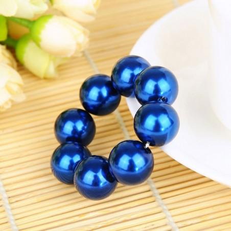 Pearl hair band - elastic tie - hair decoration