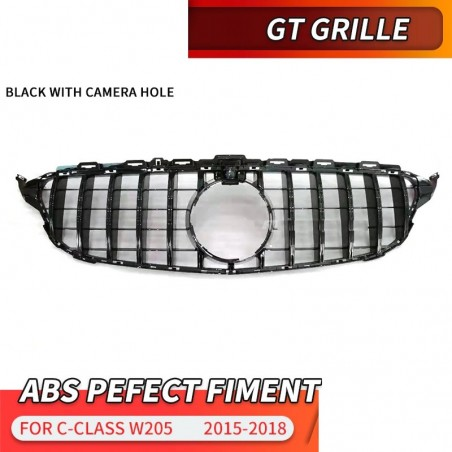 GT front grill - for Mercedes Benz C Class