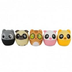 Mini Bluetooth speaker - wireless - hands free calling - camera shutter - animals shape