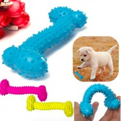 Rubber bone - toy - for dog or puppy