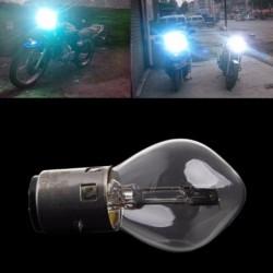 Motorcycle LED light bulb - white - 12V - 35W - 10A - B35 / BA20D