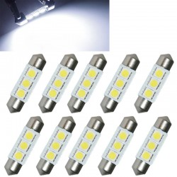 36mm LED 5050 car bulb 12V 0.9W - 10 pieces
