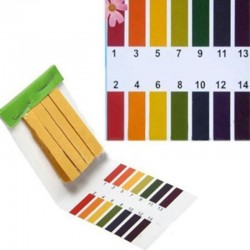 1-14 full test range - PH water tester - 160 paper strips