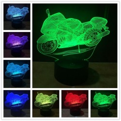 3D Creative Touch Control RGB USB LED Night Light ||