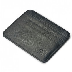 Men's genuine leather card holder - wallet