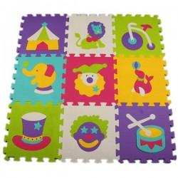 Kids Animal Pattern Puzzle Mat 9pcs Set