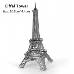 3D Eiffel Tower Metal DIY Puzzle Construction Kit