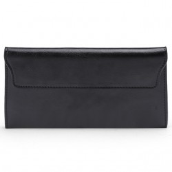 Genuine Leather Long Women's Wallet Purse