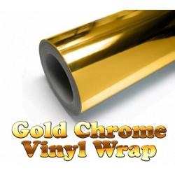 Chrome silver vinyl car sticker - electroplated film - wrap decal 30 * 152cm