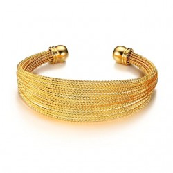 Multi Layer Cuff Bracelet