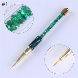 Gradient nail liner - painting brush pen