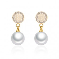 Pearls & Crystals Earrings