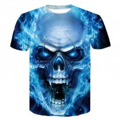 Men's 3D Skull T-Shirt