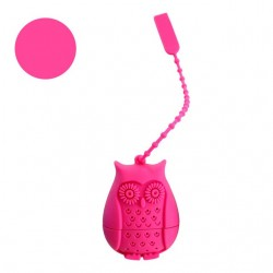 Silicone owl tea bags filter infuser