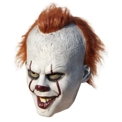 Scary clown latex halloween mask cosplay