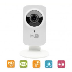 HD Mini Wifi IP Camera Wireless 720P Smart P2P Baby Monitor
