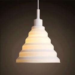 Silicone pendant light bulb holder lampshade E27